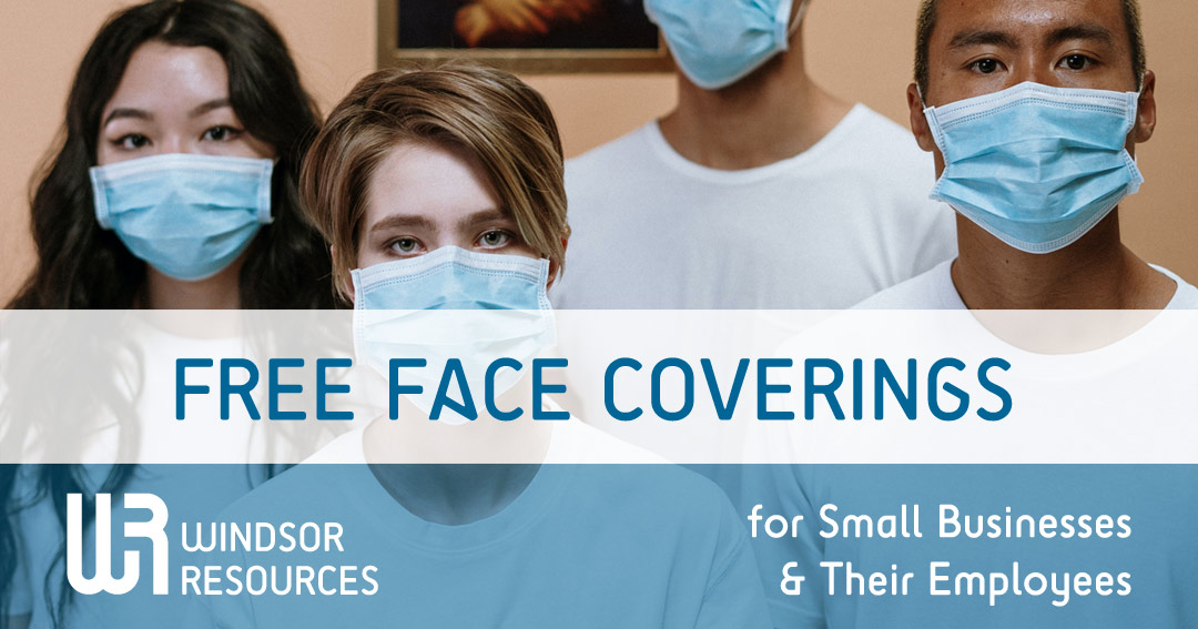Free Face Coverings for Small Businesses & Their Employees